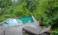 Gardens and Pool - Villa Umah Shanti - Ubud, Bali