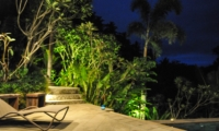 Sun Bed at Night - Villa Umah Shanti - Ubud, Bali