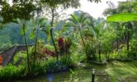 Tropical Garden - Villa Umah Shanti - Ubud, Bali