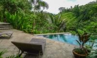 Pool Side Loungers - Villa Umah Shanti - Ubud, Bali