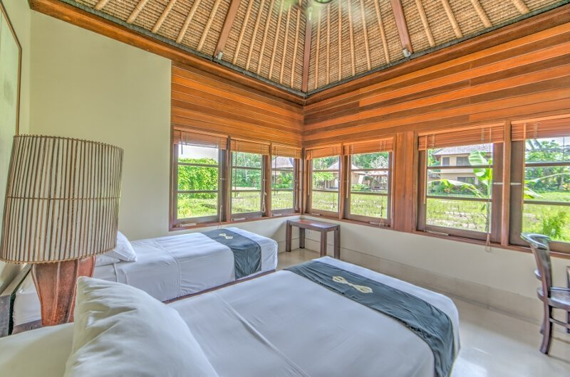 Twin Bedroom with View - Villa Vajra - Ubud, Bali