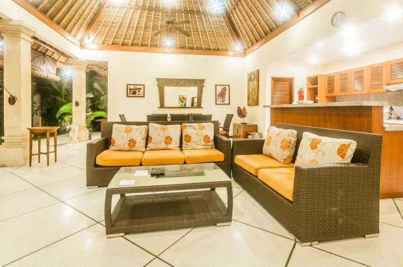 Living Area with Garden View - Villa Vara - Seminyak, Bali