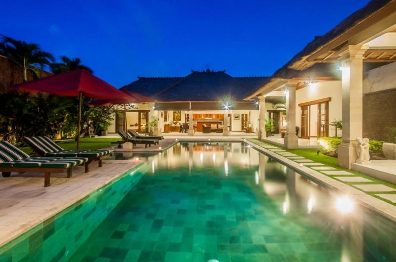 Sun Beds - Villa Vara - Seminyak, Bali