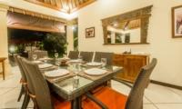 Dining Area with Garden View - Villa Vara - Seminyak, Bali