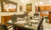 Dining with Crockery - Villa Vara - Seminyak, Bali