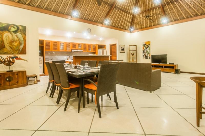 Living and Dining Room - Villa Vara - Seminyak, Bali