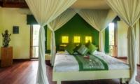 Bedroom with Wooden Floor - Villa Vastu - Ubud, Bali