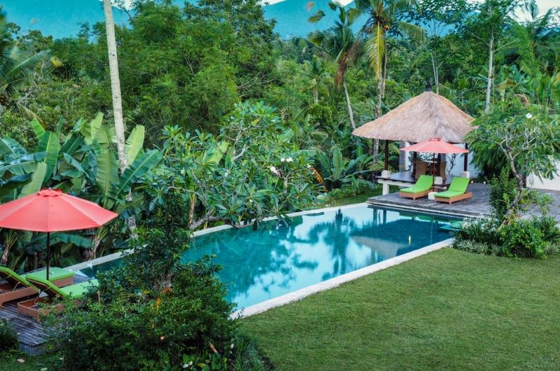 Tropical Garden and Pool - Villa Vastu - Ubud, Bali