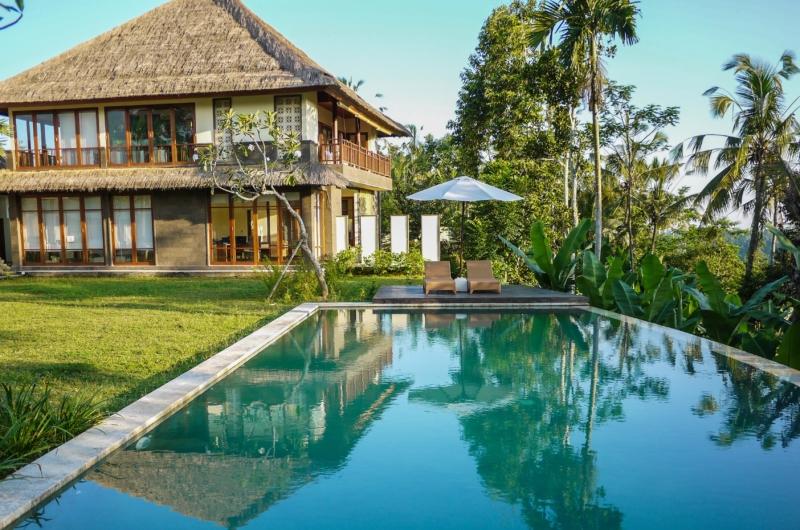 Pool Side Loungers - Villa Vastu - Ubud, Bali