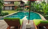 Reclining Sun Loungers - Villa Vastu - Ubud, Bali