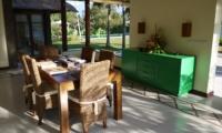 Indoor Dining Area - Villa Vastu - Ubud, Bali