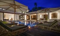 Pool Side Loungers - Villa Waha - Canggu, Bali