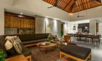 Living and Dining Area - Villa Waha - Canggu, Bali