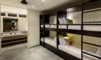 Bunk Beds and Bathroom - Villa Waha - Canggu, Bali