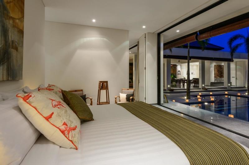 Bedroom at Night - Villa Waha - Canggu, Bali