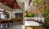 Indoor Living and Dining Area - Villa Waha - Canggu, Bali