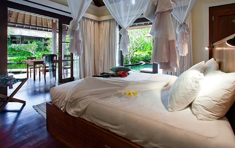 Bedroom with View - Villa Waru - Nusa Dua, Bali