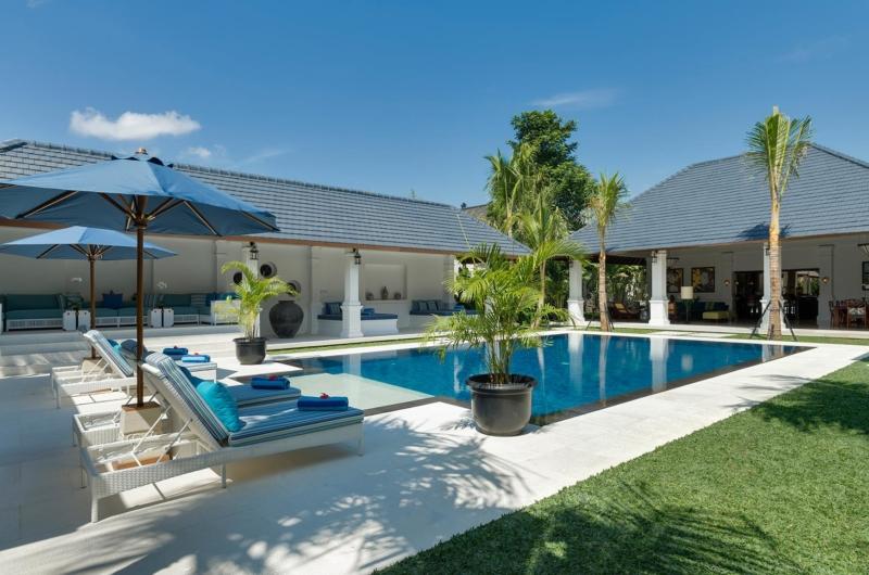 Pool Side - Villa Windu Asri - Seminyak, Bali