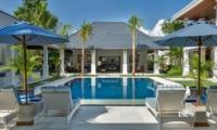 Pool Side Loungers - Villa Windu Asri - Seminyak, Bali