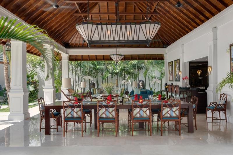 Dining Area with View - Villa Windu Asri - Seminyak, Bali
