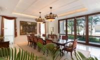 Indoor Dining Area - Villa Windu Asri - Seminyak, Bali