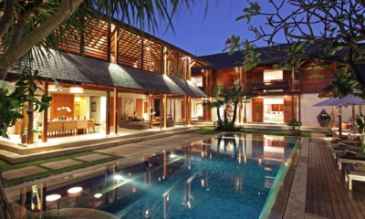 Pool at Night - Villa Windu Sari - Seminyak, Bali