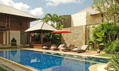 Pool Side - Villa Windu Sari - Seminyak, Bali