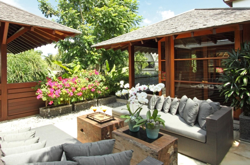 Open Plan Lounge Area at Day Time - Villa Windu Sari - Seminyak, Bali