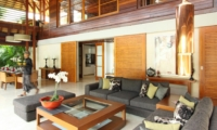 Living Area with Center Table - Villa Windu Sari - Seminyak, Bali