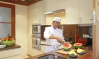 Kitchen with Chef - Villa Windu Sari - Seminyak, Bali