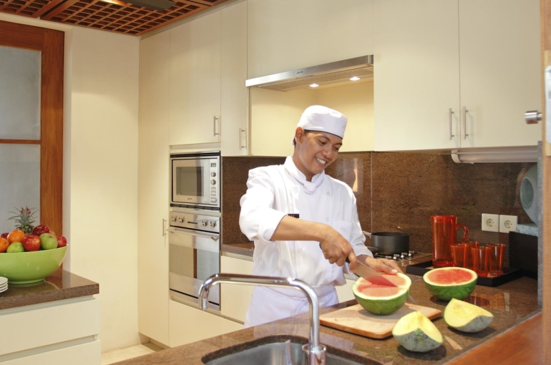Modular Kitchen with Chef - Villa Windu Sari - Seminyak, Bali