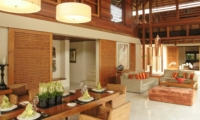 Indoor Living and Dining Area - Villa Windu Sari - Seminyak, Bali