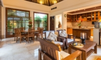 Living and Dining Area - Villa Yasmine - Jimbaran, Bali