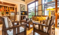 Living Area with TV - Villa Yasmine - Jimbaran, Bali