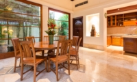 Kitchen and Dining Area - Villa Yasmine - Jimbaran, Bali