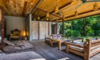 Seating Area with Garden View - Villa Yoga - Seminyak, Bali