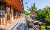 View from Balcony - Villa Yoga - Seminyak, Bali