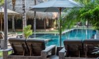 Reclining Sun Loungers - Villa Yoga - Seminyak, Bali