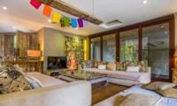 Lounge Area with TV - Villa Yoga - Seminyak, Bali