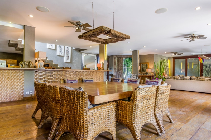 Kitchen and Dining Area - Villa Yoga - Seminyak, Bali