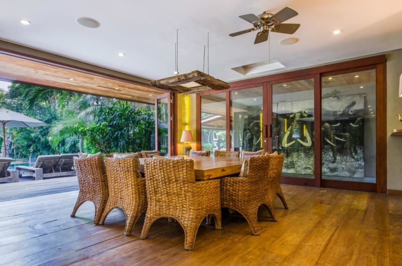 Dining Area with Pool View - Villa Yoga - Seminyak, Bali
