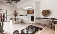 Living and Dining Area - Villa Zensa Residence - Seminyak, Bali