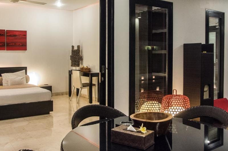 Bedroom and Balcony - Villa Zensa Residence - Seminyak, Bali