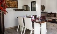 Dining Area - Villa Zensa Residence - Seminyak, Bali