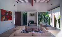 Lounge Area with TV - Villa Alice Dua - Seminyak, Bali