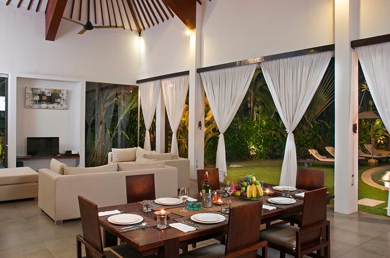 Living and Dining Area - Villa Alice Dua - Seminyak, Bali