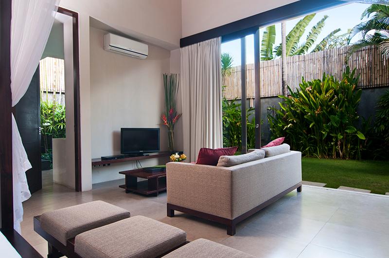 Lounge Area with TV - Villa Alice Satu - Seminyak, Bali