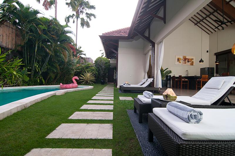 Sun Loungers - Villa Alice Satu - Seminyak, Bali