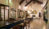 Kitchen and Dining Area - Villa Alice Satu - Seminyak, Bali