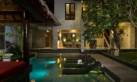 Reclining Sun Loungers - Villa Alin - Seminyak, Bali